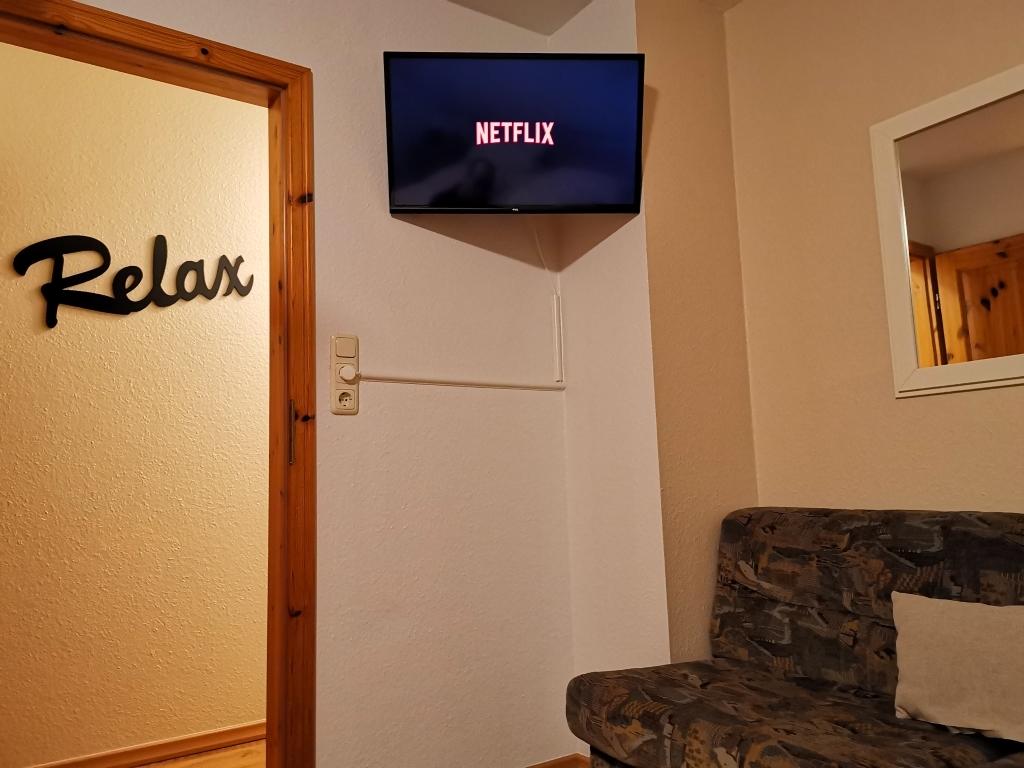 Haus Seedeich bietet zweiten Fernseher an