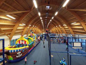 Innenaufnahme Indoorspielpark Wal Willi