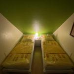 Betten bei Nacht im SZ 2 Haus Seedeich Lea